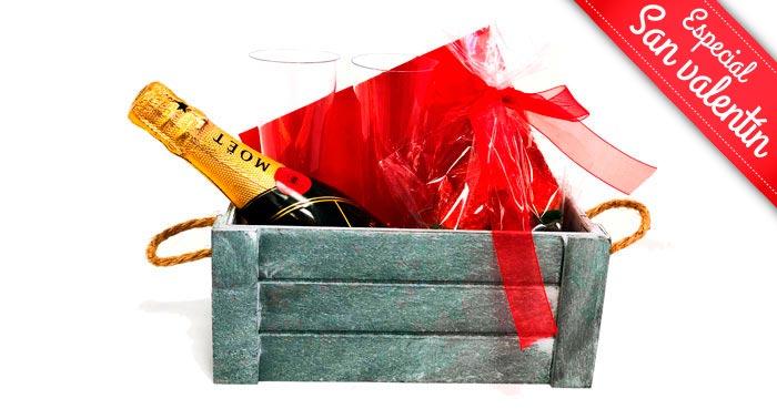 ¡Este 14 de Febrero, sorprende a tu pareja con estas románticas cestas de San Valentín!