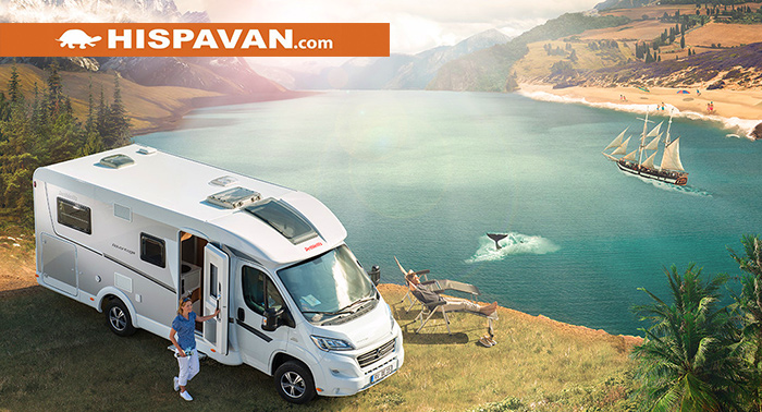Escapada de aventuras sobre ruedas durante 4 noches: ¡Alquila tu caravana para 4 personas!