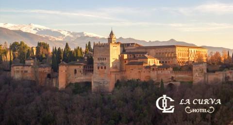 Regala una Escapada Romántica a Granada para 2: Alojamiento + Desayuno Buffet + Detalle