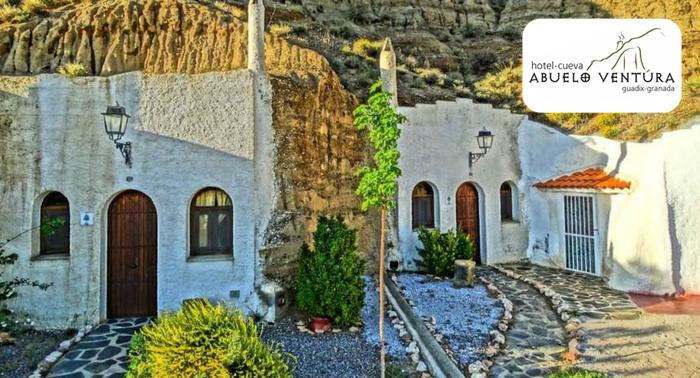 Alojamiento en Guadix en Hotel Cueva + Detalle Bienvenida para 2 personas. ¡El regalo perfecto!
