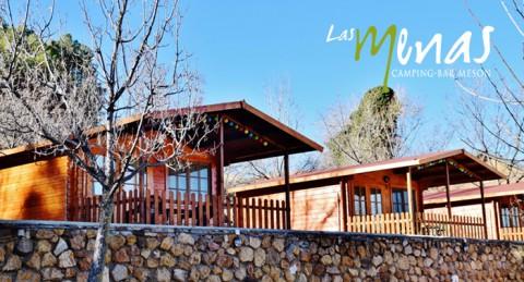 Escapada a la naturaleza para 2: Alojamiento en Cabaña de Madera + Cena + Desayuno en Las Menas