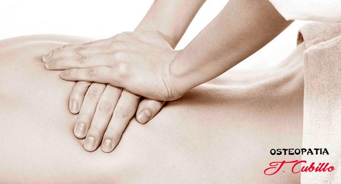 ¡Consigue el máximo equilibrio de tu cuerpo! Sesión de Osteopatía de 70min en J. Cubillo