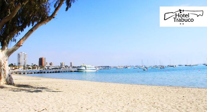 Escapada para 2 personas al Mar Menor + Media Pensión o Pensión Completa en Hotel Trabuco