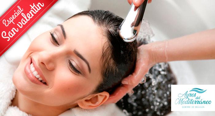 Cuida tu cabello:Tratamiento Doble Hidratación Wella Fusión + Lavado + Masaje + Corte + Peinado