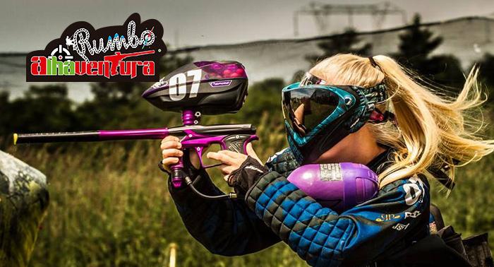 ¡Partida de Paintball + Fotos en 11.000 metros de campo customizado para la batalla!