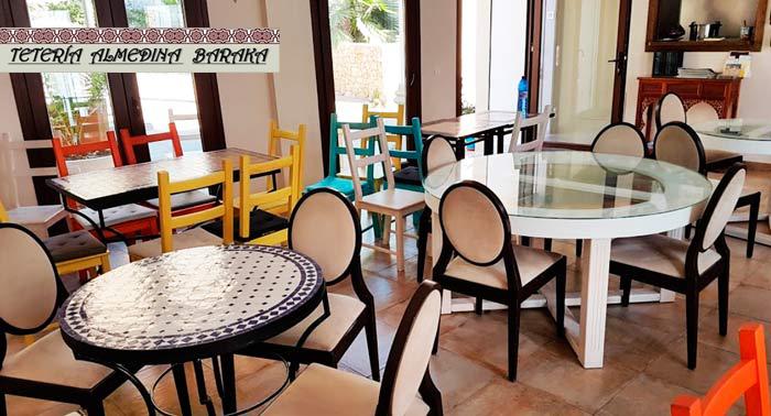 ¡Delicioso Menú Árabe a compartir para 2 pax en el Restaurante Tetería Almedina Baraka!