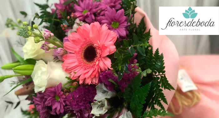¿No sabes qué regalar? Sorprende con un precioso ramo de flores... ¡Seguro que aciertas!
