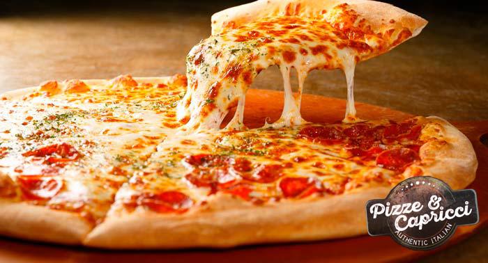 Menú Italiano para 2: Capriccios Frittos + Pizzas + Pizza Nutella + Bebidas en Pizze & Capricci