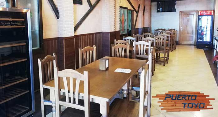 Parrillada Carne o Fritura Pescado + Botella Vino Tinto o Blanco en Restaurante Puerto Toyo