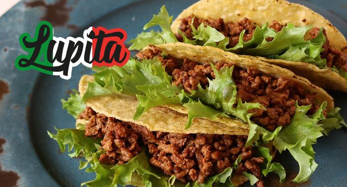 Sabor a México para 2 pax: 2 Burritos o Quesadillas + Bebidas en Restaurante La Lupita