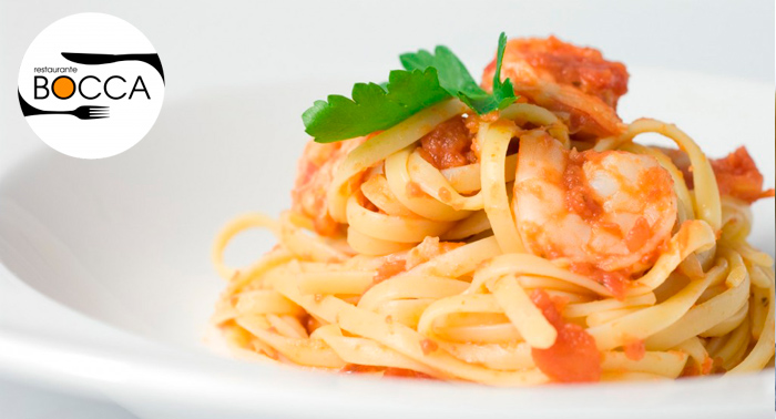 Menú Italiano para 2 personas: 1 Provolone + 2 Pizzas o Pastas + Bebidas