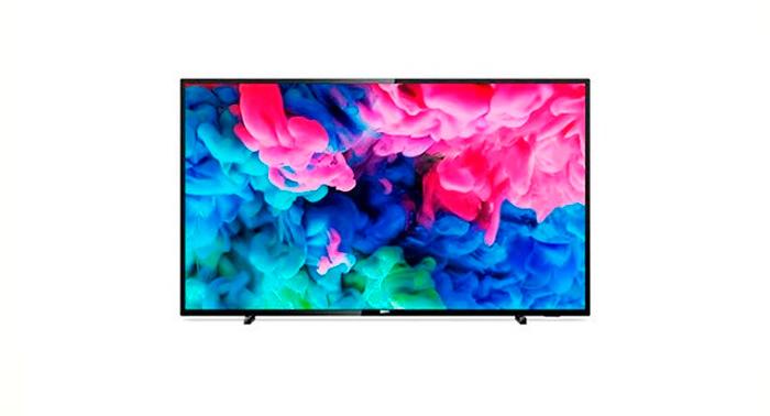 El mejor entretenimiento con la mayor calidad en la nueva Televisión Led 43 Philips Smart TV 4K