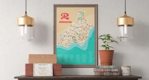 Dale envidia a tus amigos decorando tu casa con este cuadro exclusivo de tu tierra, Almería