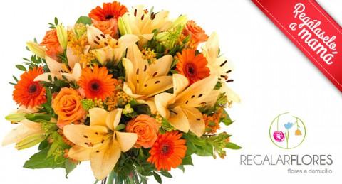 ¡Sorprende a mamá en un día muy especial con un Fántastico Ramo de Flores Frescas!