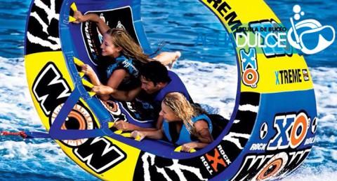 ¡Diversión a tope! Viaje en Rosco XO Xtreme o Alquiler de 2h tabla de Paddle Surf