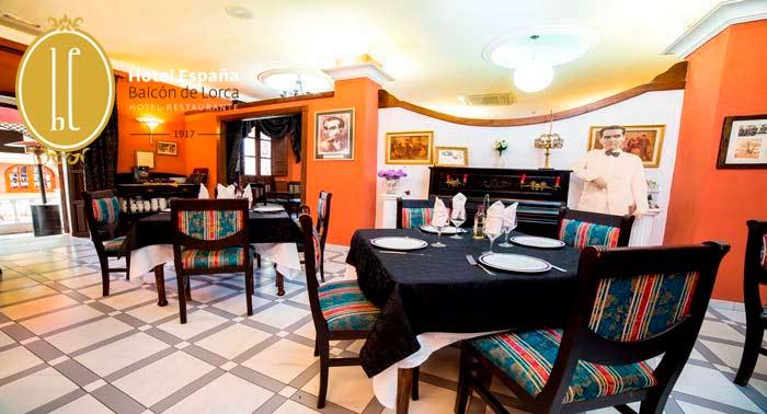 Escapada a Lanjarón para 2: Alojamiento + Desayuno Continental en Hotel España Balcón de Lorca
