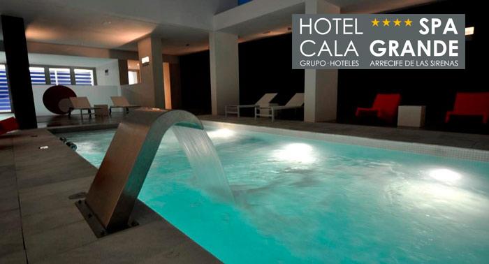 ¡Relax de lujo! Circuito Zen Hidrotermal + Masaje 15 minutos + Té en Hotel Spa Cala Grande****