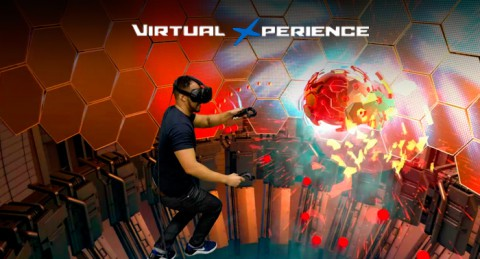 Adéntrate en un mundo nuevo: Experiencia 30min de Realidad Virtual + Refresco + Foto Recuerdo
