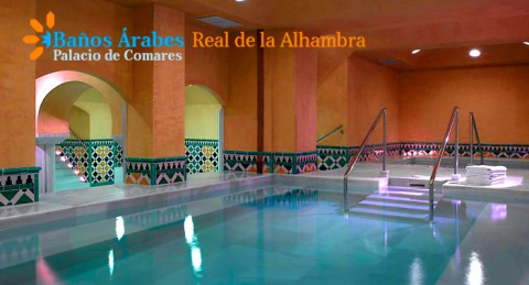 Spa Árabe Real de la Alhambra + Opción a Cena, Cóctel, Masaje, Kit romántico... ¡Elige relax!