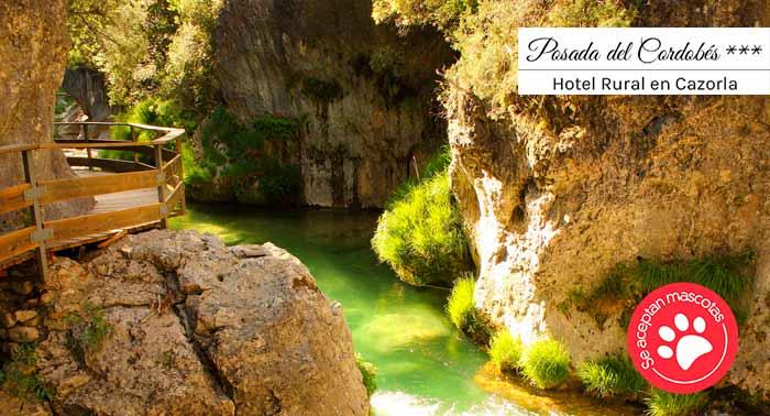 Hotel Rural con encanto en Sierra de Cazorla para 2: Alojamiento + Desayuno + Cena Bienvenida