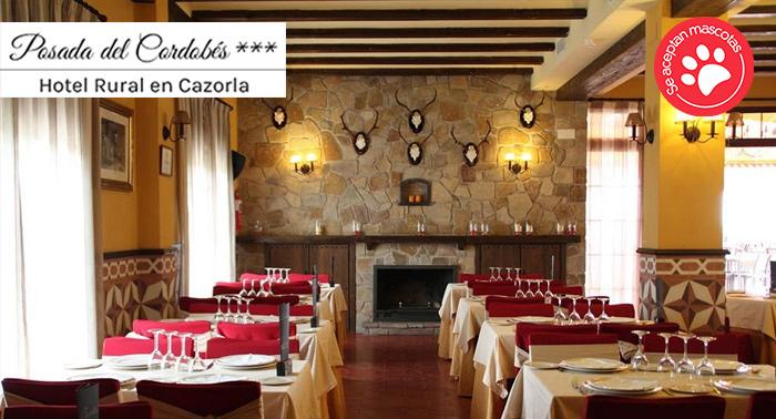 ¡Descubre Cazorla! Para 2 o 3 personas: Alojamiento + Desayuno + Cena en Posada del Cordobés