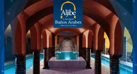 Relájate y disfruta de un placentero circuito de Baños Árabes + Servicio de Té. ¡Auténtica paz!
