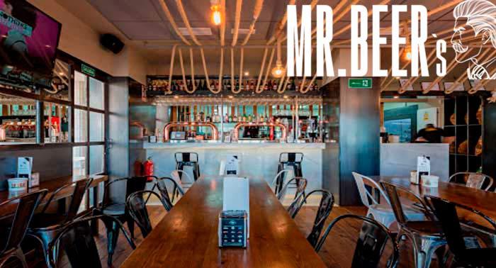 Cena Tex Mex para 2 pax: Mix Quesadillas + Nachos + 2 Coronitas en Mr.Beer's Roquetas de Mar