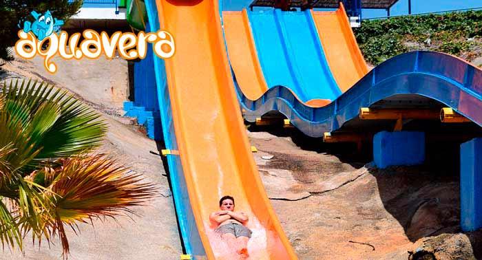 ¡Disfruta de un día refrescante y divertido! Ven a visitar el Parque Acuático Aquavera