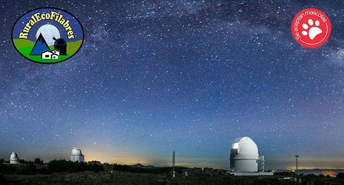 ¡Escapada en pareja o familiar a la Sierra de los Filabres, cerca del Observatorio Calar Alto!