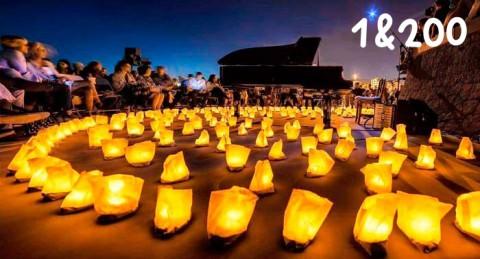 Concierto de David Gómez con 1 Piano & 200 Velas en lugares mágicos