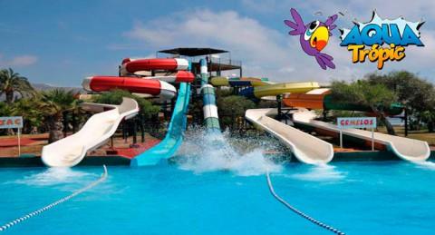 ¡Este verano diviértete con la mejor compañía! Entradas al Parque Acuático AquaTrópic