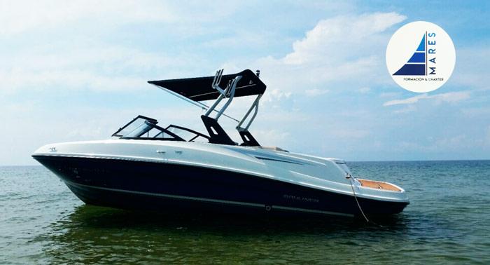 ¡El verano ya está aquí! Alquiler de Bayliner VR5 con capacidad para 8 personas durante 8 horas