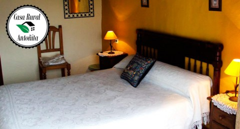 ¡Descubre Parauta! 2 o 7 Noches de Alojamiento con Amigos o Familia en Casa Rural Antoñita