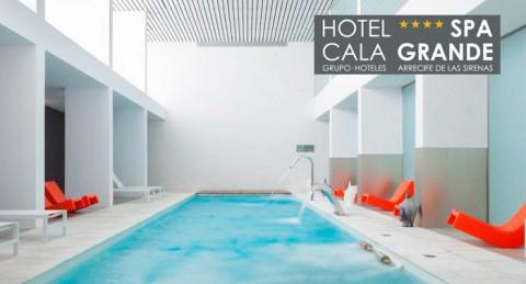 ¡Auténtico relax! Circuito Zen Hidrotermal + Masaje 15min + Té en Hotel Spa Cala Grande****