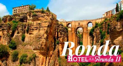 ¡Regala una escapada romántica a Ronda! 2 Noches de Alojamiento + Desayunos en Hotel Arunda II