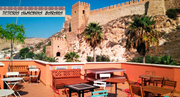¡Delicioso Menú Árabe para 2 personas con vistas a la Alzacaba en Tetería Almedina Baraka!