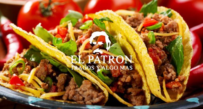 ¡Delicioso Menú Mexicano para 2 personas en El Patrón de la Plaza del Mar en Retamar!