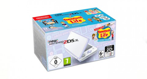 ¡Descubre algo totalmente diferente! Consola Nintendo New 2DS XL Lavanda + Tomodachi Life