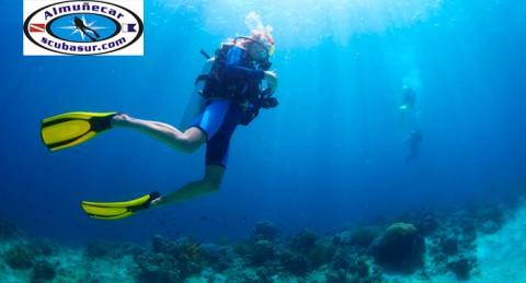Disfruta en Almuñécar: Bautizo de Buceo ó 2 Inmersiones con Salida en Barco + Fotos + Diploma