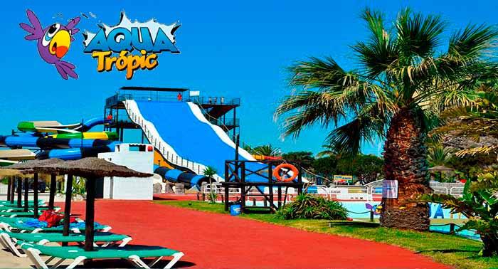 ¡Máxima diversión con la mejor compañía! Ven a disfrutar del Parque Acuático AquaTrópic