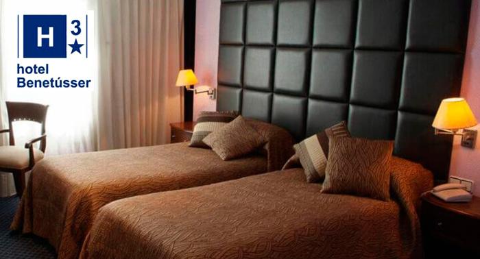 ¡Disfruta del verano! Alojamiento + Desayuno Buffet en Hotel Benetusser****