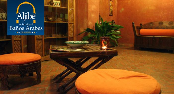 ¡Encuentra el auténtico relax! Circuito de Baños Árabes + Té en Aljibe de San Miguel